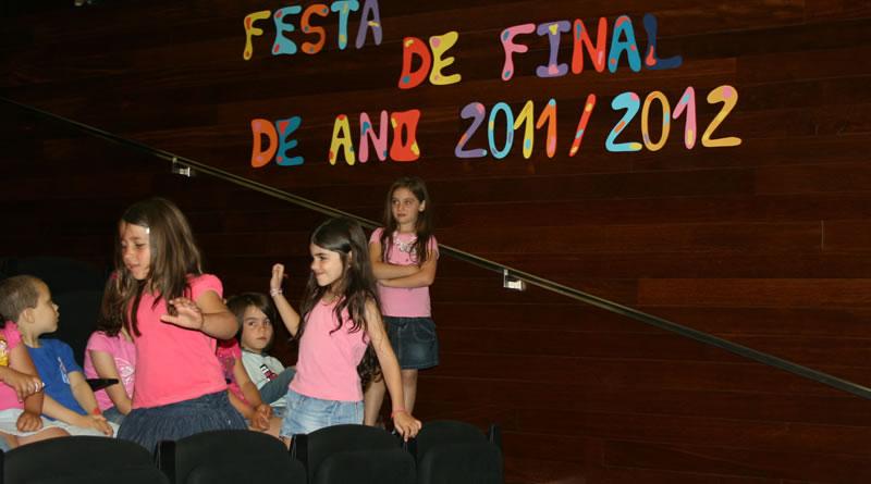 festa de encerramento 2012 escola da Marinheira